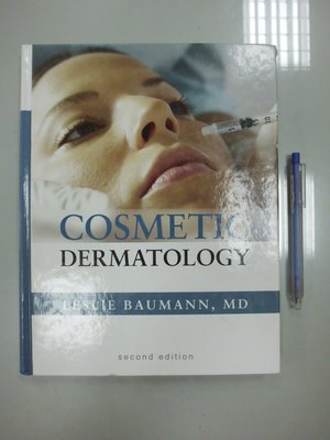 (歡迎詢問價錢)D5-4cd☆2009年『Cosmetic Dermatology 2/e』McGraw-Hill
