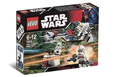 LEGO Star Wars Clone Troopers Battle Pack 7655 NEW 5盒 MISB