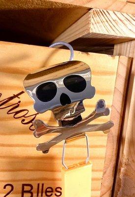 骷髏頭不鏽鋼餐巾圈:骷髏頭 不鏽鋼 餐巾圈 餐具 居家 家飾 設計 收藏 禮品