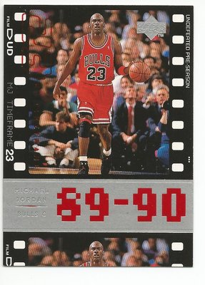 1998 UD M.Jordan (背面編號32)