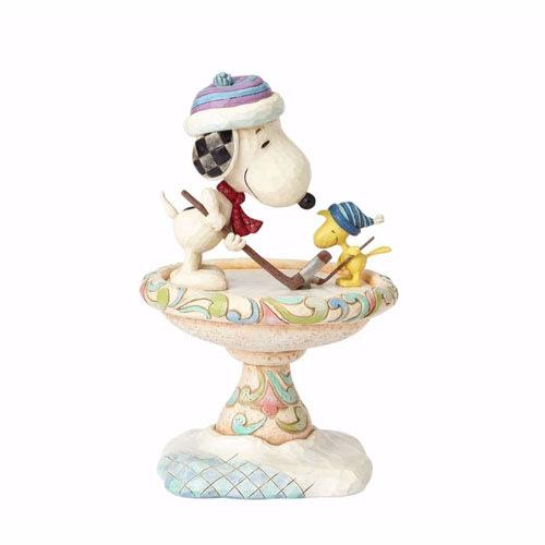 🗽Dona美國代購🗽預購 Enesco 史努比 snoopy 糊塗塔克冰上曲棍球 塑像 公仔擺飾裝飾