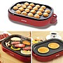 雙子媽咪代購日本IRIS 章魚燒機/鐵板燒機兩用烤盤  鬆餅 大阪燒可用 20孔章魚燒機
