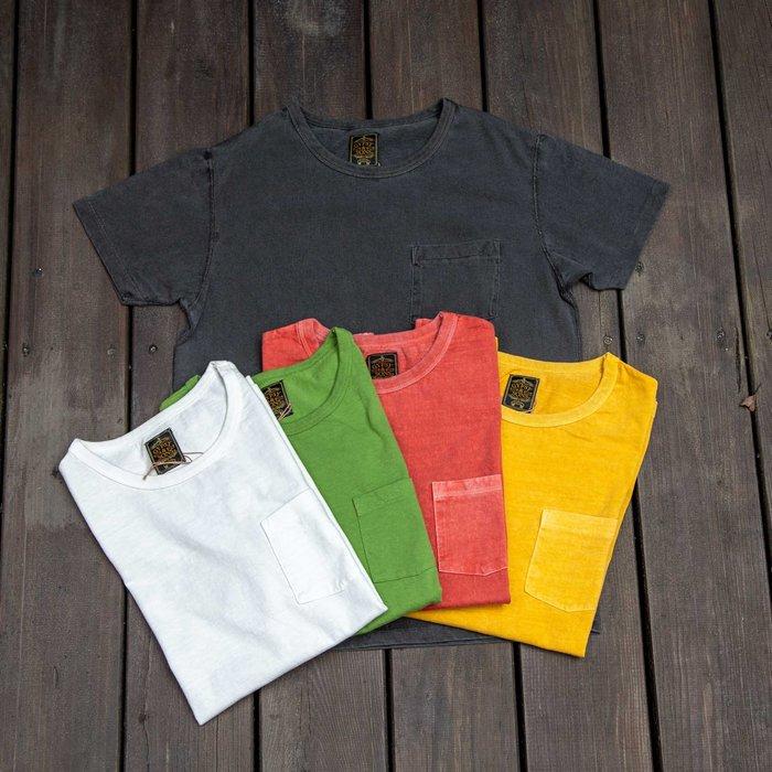 牛仔偵探 經典求秒 ! Gypsy & Sons 口袋T恤 經典定番款 5色狂飆