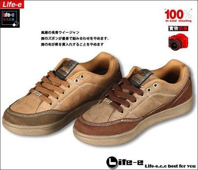 【LIFE-E生活元素】A『606、656』-嚴選厚實系帶鞋耐穿好搭 二色 合併購買免郵資