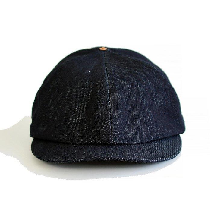 【 Wind 】超重磅 丹寧 13.5oz 阿美咖 工裝帽 硬挺 報童帽 小偷帽 復古 鴨舌帽 紳裝 鬆緊帶 鉚釘