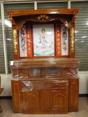 光南家具-5.1尺北式神櫥、神桌