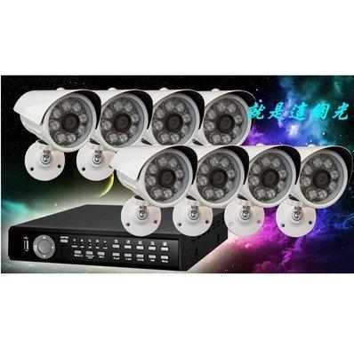 就是這個光 8支貓頭鷹1號243萬畫數 SONY 1080P+可取 500萬 ICATCH 8路4音DVRx1台