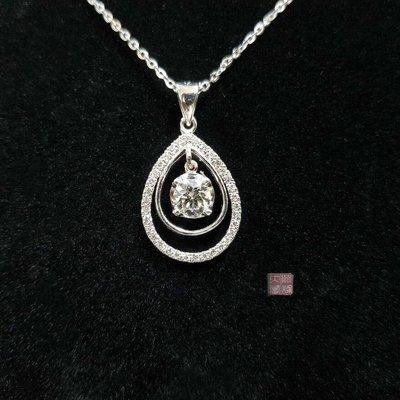 送禮 禮物 禮品 全新品 GIA鑽石項...