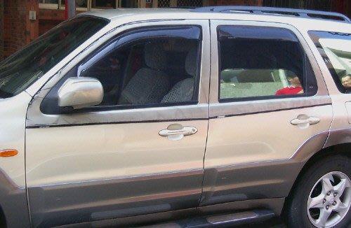 車用蚊帳˙前門2片˙ 馬自達 Mazda 5 Tribute Premacy MPV CR-V