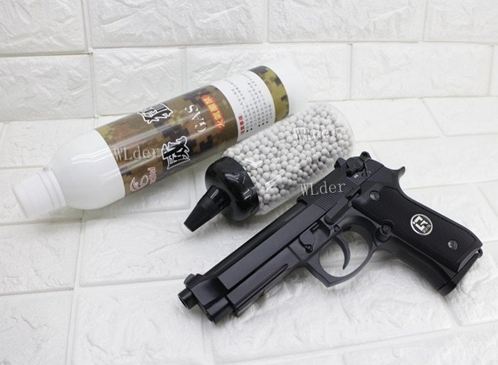 [01] iGUN 貝瑞塔 M9A1 瓦斯槍 連發版 MG + 12KG 威猛瓦斯 + 0.2g BB彈 (BB槍BB彈