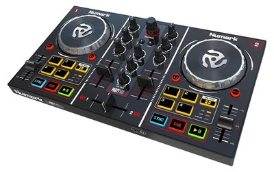 Numark Party Mix 控制器   盒裝  附 Virtual DJ LE 軟體