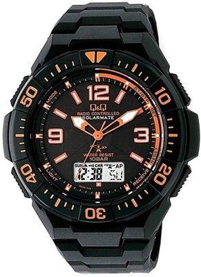日本正版 CITIZEN 星辰 Q&Q MD06-315 手錶 男錶 電波錶 太陽能充電 日本代購