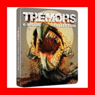 【BD藍光】從地心竄出 1~6 集:六碟限量鐵盒版Tremors(12346台灣繁中字幕) 透明人凱文貝肯