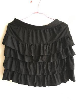 黑色天絲棉蛋糕裙