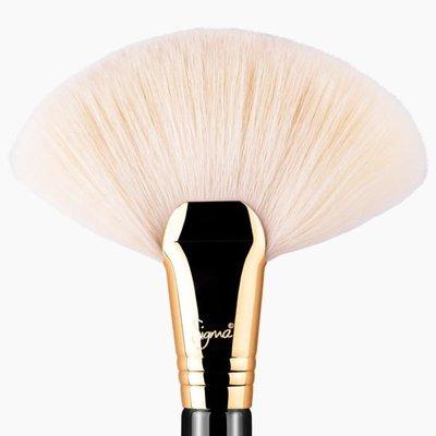Sigma F90 - FAN BRUSH(【愛來客】美國Sigma官方授權經銷商 扇形刷 餘粉刷/粉餅/修容刷 化妝刷