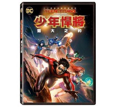 合友唱片 面交 自取 少年悍將:猶大之約 (DVD) Teen Titans: Judas Contract