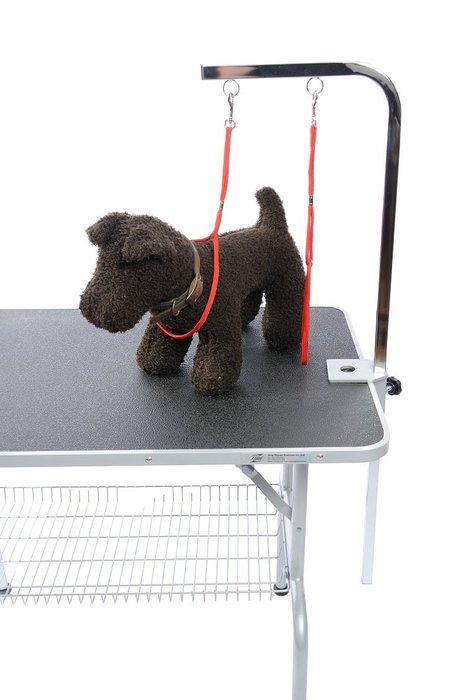 【GOGOSHOWER狗狗笑了】專業寵物美容桌_雙環L型吊桿組