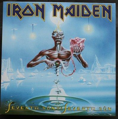 全新歐版黑膠 - 鐵娘子合唱團 / 生生不息Iron Maiden / Seventh son of a seventh