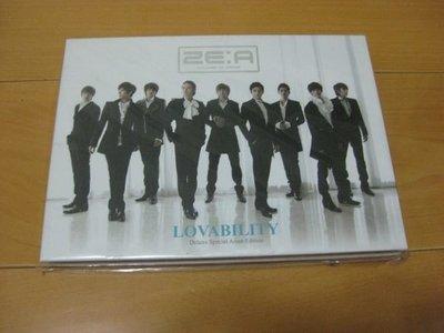 ZE:A帝國之子【LOVABILITY 】(CD+DVD) 台灣獨占盤