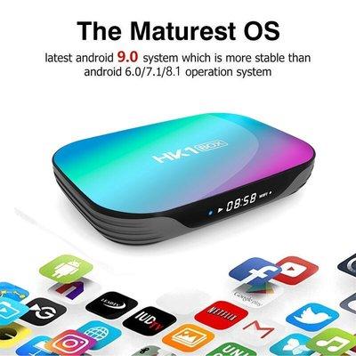 HK1 BOX S905X3 4G+64G 網路電視盒 8K 安卓9.0 雙频WIFI 藍芽4.0