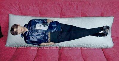 《須預購》Bii 畢書盡 50X150公分 雙面彩印抱枕附加枕芯 50X150cm 等身抱枕 雙面可印不同圖 客製 訂做