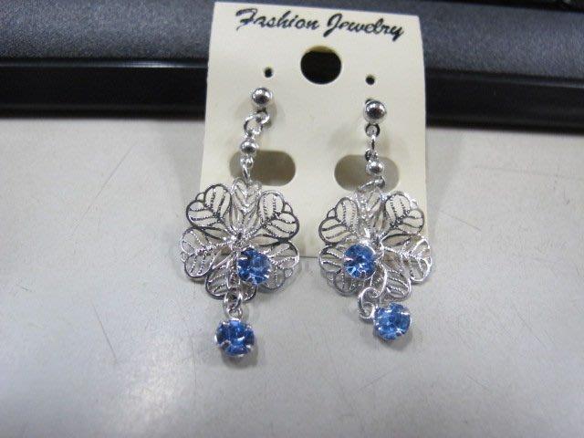 二手舖 NO.4466 時尚造型耳環 耳針 耳鉤 便宜賣 首飾飾品