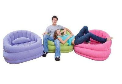[衣林時尚] INTEX 充氣沙發椅 (綠) 91x102x65cm 超時尚 68563  保固一年