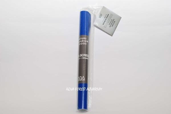 ◎ 水族之森 ◎ 日本 ADA 超白玻璃缸60P專用 卡點西德(藍) (水族背景膜) 61x37 cm