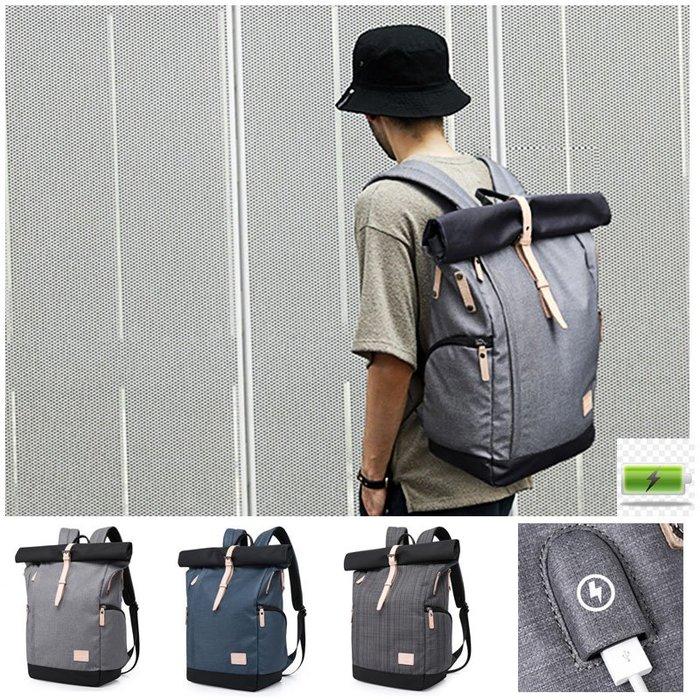 日韓 書包 防盜包 後背包 學生後背包 筆電包 電腦包 背包 公事 包包 男後背包 防盜後背包 旅行袋 旅行包 後背包男