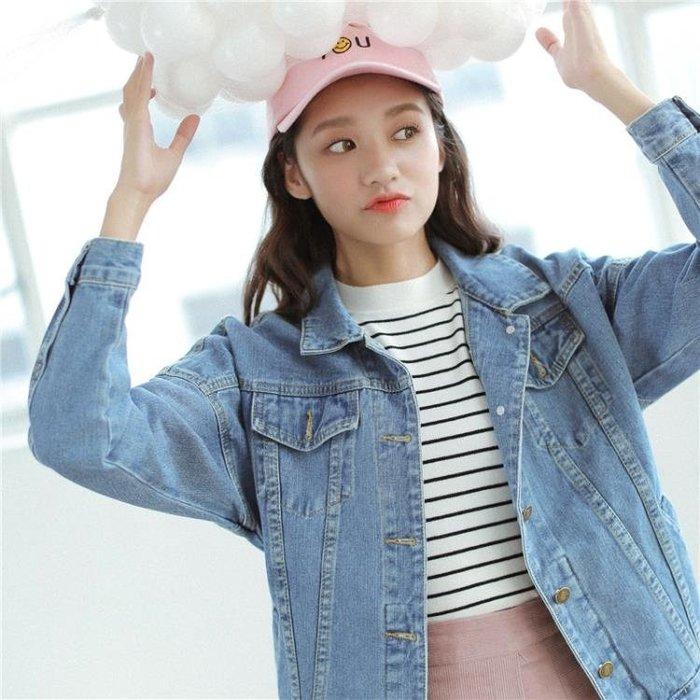 牛仔外套女2018牛仔衣韓版寬鬆學生牛仔夾克女