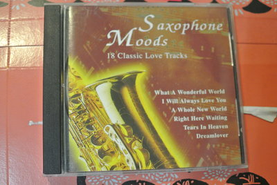 CD ~ SAXOPHONE MOODS ~ SENSORY 44102