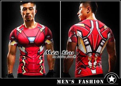 【Men Star】免運費 復仇者聯盟3 鋼鐵人 史塔克 運動衣 短T 媲美 Dickies SMUDGE SQUAD