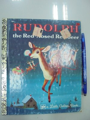 D3-3bc☆『RUDOLPH The Red-nosed Reindeer』May《GOLDEN PRESS》
