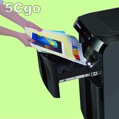 5Cgo【權宇】范羅士Fellowes 500C大型商用辦公碎紙機全自動/觸摸感應/連續紙張光碟片粉碎機另300C 含稅