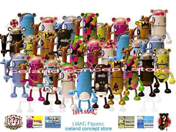 iceland ~ Flying Cat LMAC Gehenom Zombies系列 設計師公仔 (限量及絕版LMAC公仔)