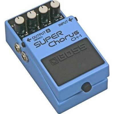 ☆ 唐尼樂器︵☆ Boss CH-1 Super Chrous 電吉他和聲單顆效果器(最受歡迎的和聲之一)