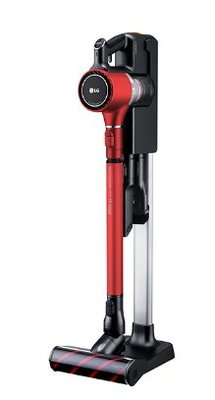 【 LG 樂金 】CordZero? A9無線直立式吸塵器(時尚紅)《 A9PBED2R 》智慧變頻馬達10年保固