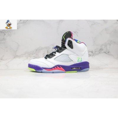【唐老鴨】Nike Air Jordan 5 Alternate Bel-Air 白紫鴛鴦運動籃球鞋DB3335-100
