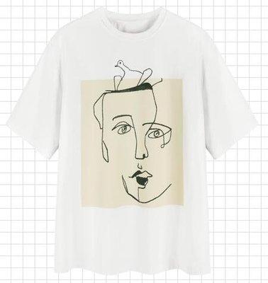 ♠MG小象短袖T恤女裝2019新款bf帥氣慵懶風體恤寬松情侶裝時尚上衣♠♠時尚小鋪