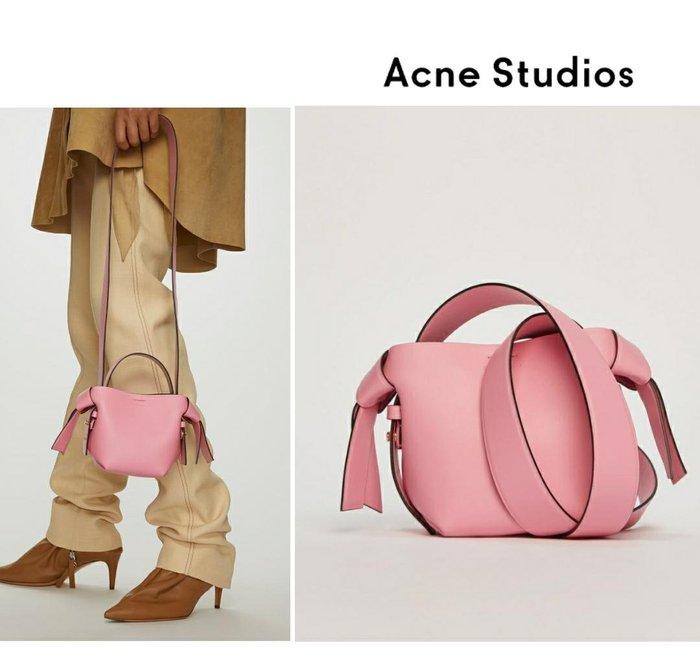Acne Studios ►( 粉紅色 )musubi micro款 肩背包 斜背包|100%全新正品|特價!