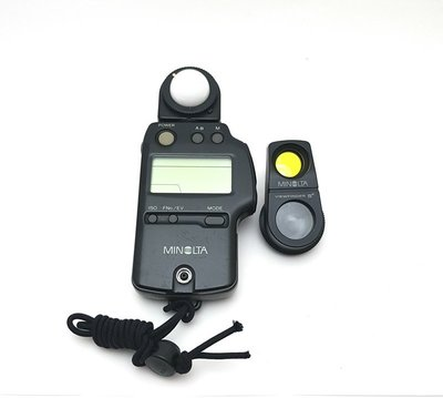 @佳鑫相機@(中古託售品)MINOLTA IV F測光表+ 5度測光頭