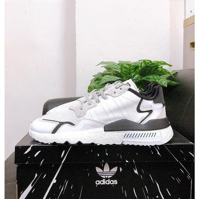 SHOEBOX Adidas Nite Jogger Star Wars 白黑 星際大戰 白兵 FW2287
