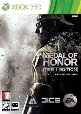 【二手遊戲】XBOX360 榮譽勳章 戰士版 MEDAL OF HONOR 中英文亞版 【台中恐龍電玩】