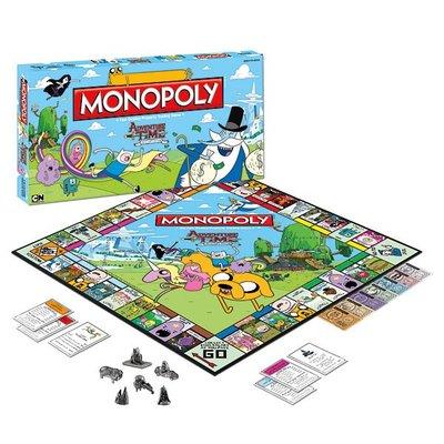 現貨☆ ╮美國Happy購╭☆探險活寶 Adventure Time Monopoly 酒店大亨遊戲組