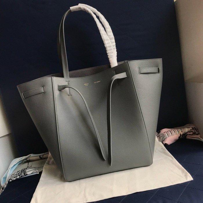 Melia 米莉亞代購 19ss Celine Cabags  phantom 手提購物包 抽繩水桶包 內里磨沙皮 黑色