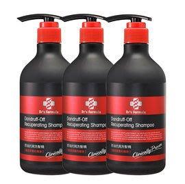 台塑生醫 Dr's Formula 小曼老師推薦  控油抗屑洗髮精580ml * 3 瓶 免運