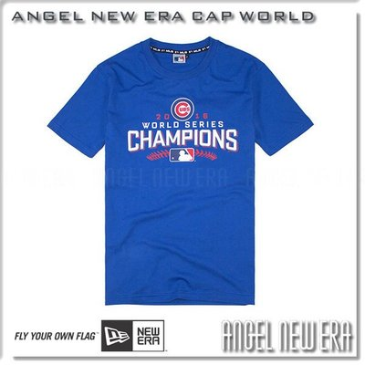 【ANGEL NEW ERA】MLB 芝加哥 Chicago 小熊 CUBS 冠軍 紀念 champion 短T