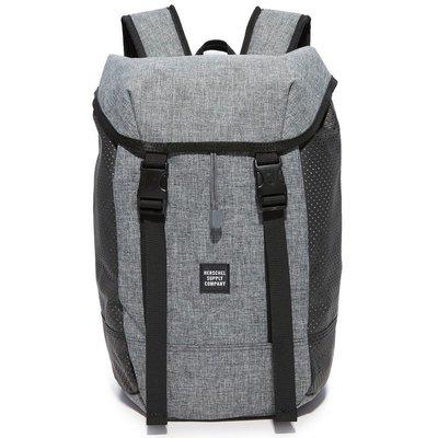 Herschel Iona 高階 Aspect 灰黑 側邊 黑色 網布 筆電層 帆布 大容量 後背包 [現貨]