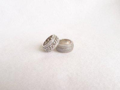 Piaget 伯爵 Possession 系列 同款 925純銀 螺旋 鐵鏈 滿鑽 戒指 多款可選 多買可優惠!! A1