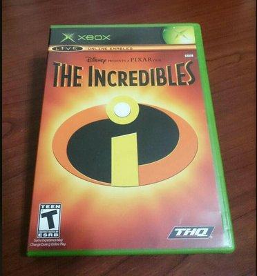2件免運 XBOX 超人特攻隊 英文版 初代主機遊戲
